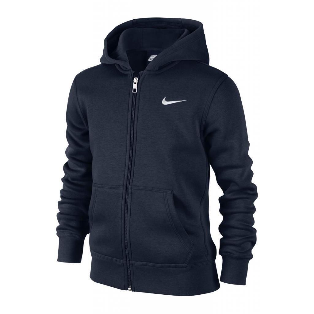Amazon.com: NIKE Brushed Fleece Full-Zip (8y-15y) Older Boys Hoodie: Clothing