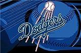 MLB Los Angeles Dodgers Tufted Rug 39-inch x 59-inch