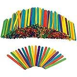 Colored Wood Craft Sticks - 1000 Pieces (Item # 1000CS)