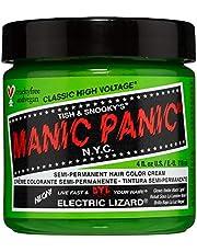 Manic Panic - Electric Lizard Classic Creme Vegan Cruelty Free Green Semi Permanent Hair Dye 118 ml