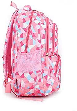 33 Rentree Scolaire Backpack Sac /à Dos Scolaire Enfant Grande Volume Fille Garcon Cartable /à Dos Ecole Cartable Loisir Voyage Cartable Primaire Secondaire 48 24cm