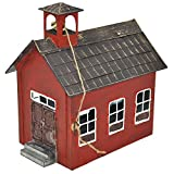 Jeremie Corporation Little Red Schoolhouse for Miniature Garden, Fairy Garden For Sale
