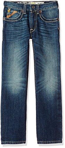 Ariat Boys' B5 Slim Fit Straight Leg Jean, Boundary Cyclone, 10 Boys