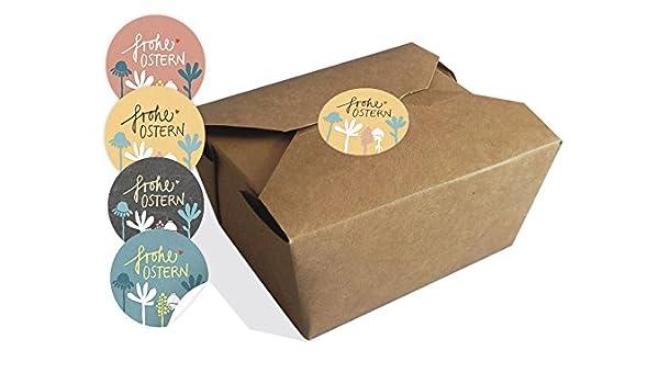 Juego de 12 cajas de regalo, marrón, natural Nido, Pascua cesta, cesta de Pascua, caja para pasteles, galletas, magdalenas, caramelos para Pascua, ...