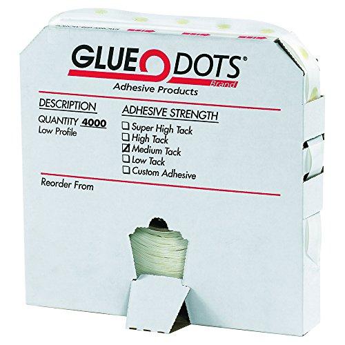 low profile glue dots - 8
