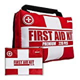 Product review for Franklin Sports Sideline 2-in-1 Team Sports First Aid Kit (220 Piece) + Bonus 30-Piece Mini First Aid Kit - Compact for Home, On The Field, Outdoors, Car, Camping, Workplace, Hiking - FDA Approved