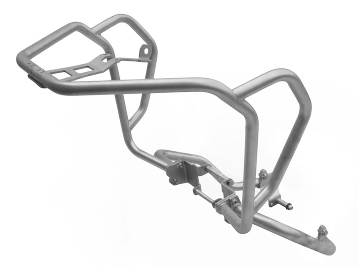 AltRider AT16-0-1012 Upper & Lower Crash Bars for the Honda CRF1000L Africa Twin - Silver