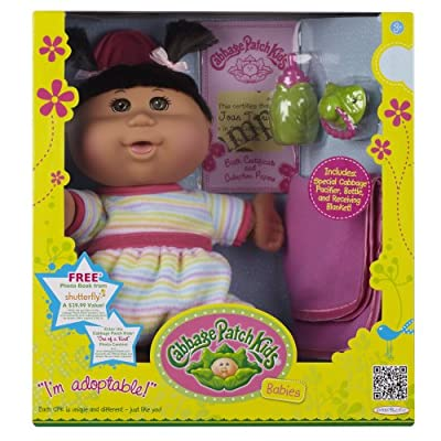 Cabbage Patch Babies Doll - Hispanic Girl Black Hair by Cabbage Patch Kids