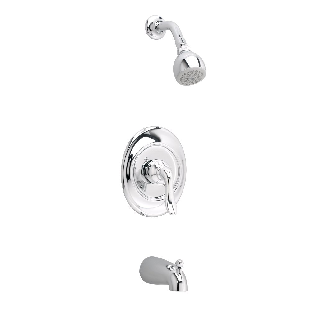 American Standard T508502.002 Princeton Bath and Shower Trim Kit Only, Polished Chrome