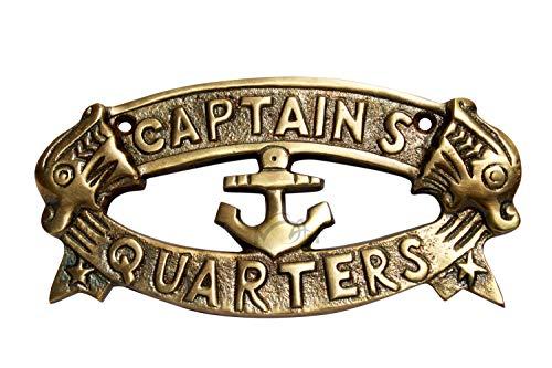 MAH Antique Style Aluminum Nautical Cast Aluminum Decoration Captain