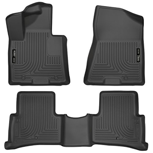 Husky Liners Front & 2nd Seat Floor Liners Fits 2017 Sportage