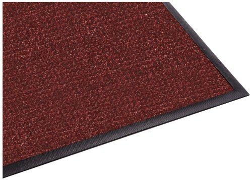 (Guardian WaterGuard Indoor/Outdoor Wiper Scraper Floor Mat, Rubber/Nylon, 2'x3', Red)
