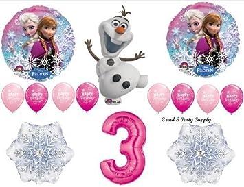 Amazon.com: Decoración Frozen con globos para la ...