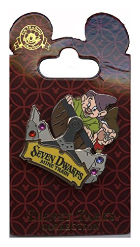 Disney Pin - WDW - Seven Dwarfs Mine Train with Dopey & Grumpy - 100410