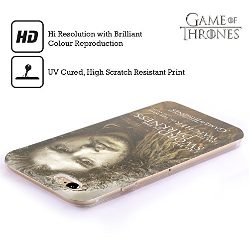 Officiel HBO Game Of Thrones Jon Snow Portraits De Personnage Étui Coque en Gel molle pour Apple iPhone 5c
