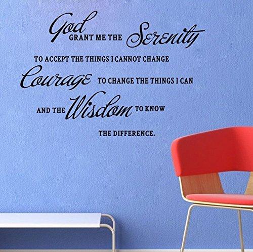 GRANT SERENITY PRAYER BIBLE Stickers