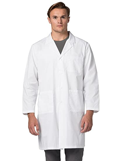 Adar Uniforms Bata Médica de Laboratorio Unisex Para Doctores y Científicos - 808 Color WHT | Talla: 5X: Amazon.es: Ropa y accesorios