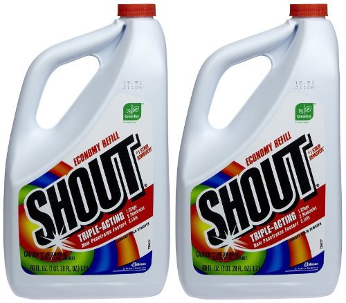 Shout Stain Remover Liquid Refill - 60 oz - 2 (Ketchup Stain Remover)