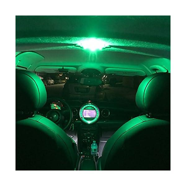 SiriusLED 6pcs 194 168 T10 Super Bright 360 Degree Illuminate 1w DRL Interior LED Light Bulb Multiple Colors