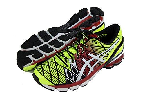 fed72cb174d91 ASICS Men s Gel Kinsei 5 Running Shoes T3E4J-9001 Black White Red - Buy  Online in Oman.