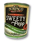 Sweety Pepps All Natural Whole Red Peppers, Hot & Sweet - 6.40 Lb Can (Pack of 2)