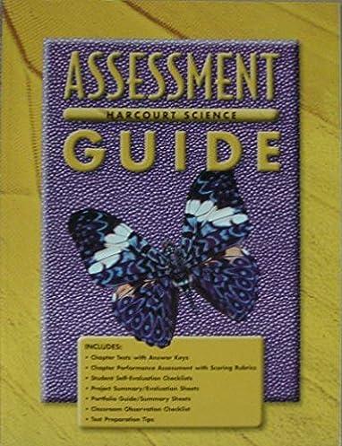 amazon com harcourt science assessment guide grade 3 rh amazon com 3rd Grade Harcourt Science Textbook harcourt science grade 3 assessment guide pdf