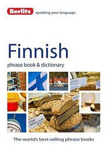 Berlitz Language  Finnish Phrase Book And Dictionary  Berlitz Phrasebooks