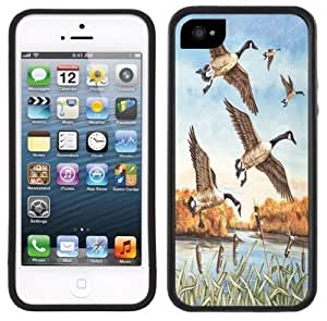 Canadian Geese Handmade For SamSung Galaxy S4 Mini Case Cover Black Case