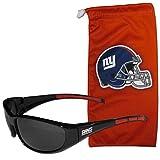 NFL New York Giants Adult Sunglass and Bag Set, Red