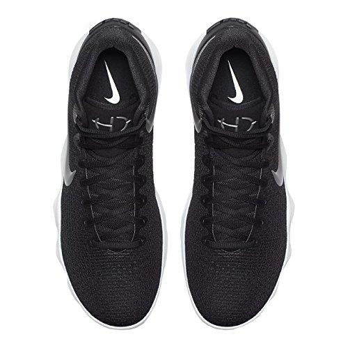 Calzado De Baloncesto Nike Hombres Hyperdunk 2017 Tb Negro / Plata Metalizado / Blanco