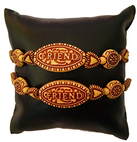 Avanti Creation Brown Friendship Bracelet For Girls And Boys Friendship Band Friendship Belt for Friends Lucky Bracelet (Pack Of 1 Bracelet) (B07TXV629C) Amazon Price History, Amazon Price Tracker