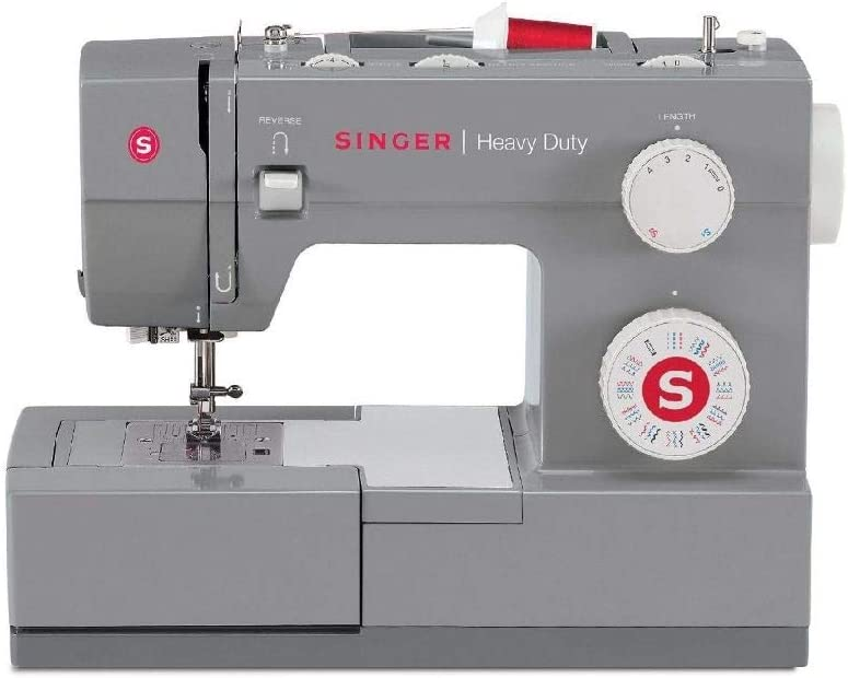 Most Reliable Mechanical Sewing Machine for Kids: Singer heavy- duty 4452 Sewing Machine With Accessories
