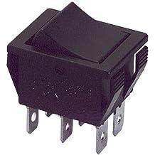 H1 20 Pcs AC 250V//6A 125V//10A 2-Pin SPST Panel Mount Boat Rocker Switch