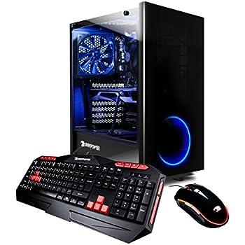 iBUYPOWER Gaming Computer Desktop PC  AM901Z Intel i7-7700 3.6GHz, NVIDIA Geforce GTX 1060 3GB, 8GB DDR4 RAM, 1TB 7200RPM HDD,  Wifi, Win 10, RGB, VR Ready