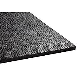 Animat Stall Animal Horse or Fitness Mat - Durable All Weather - 3\'x4\' - Made in the USA -Black