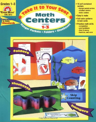 Take It to Your Seat Math Centers, Grades 1-3