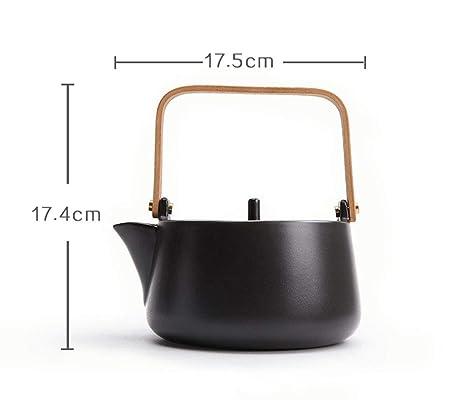 Tetera de cerámica Estufa de cerámica eléctrica Tetera Máquina de té Juego de té de cerámica