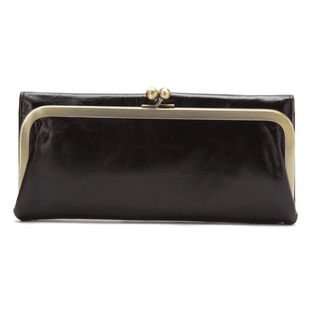 HOBO Vintage Rachel Wallet,Black,one size
