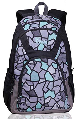 F Gear Shielder 3D 26.5 Liters Casual Backpack  P Z Green