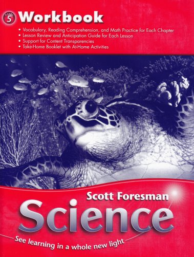 SCIENCE 2006  WORKBOOK GRADE 5
