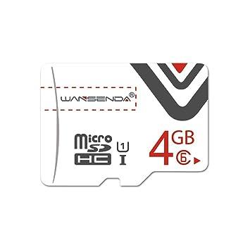 Wansenda - Tarjetas de Memoria de Color Naranja (4 GB, 8 GB ...