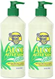 Banana Boat After Sun Lotion Aloe, 16 Oz. (Pack of 2)