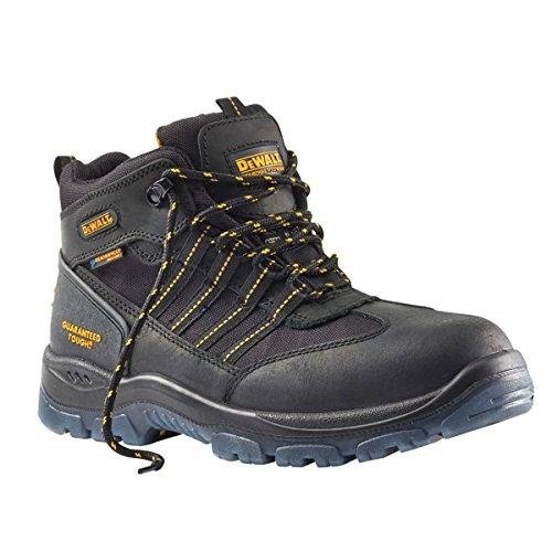 DeWalt Nickel s3wr imperméable Chaussures de sécurité Noir Taille 9
