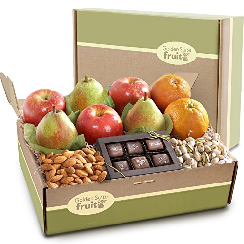 Golden State Fruit Gracious Giver Deluxe Fruit Gift Box