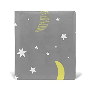 Deziro Night Moon Book Covers Fits Hardcover Textbooks fino a 9x 11in
