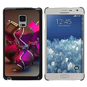 TopCaseStore / la caja del caucho duro de la cubierta de protección de la piel - Gold Bling Metal 3D - Samsung Galaxy Mega 5.8 9150 9152