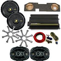 Kicker for Dodge Ram Quad/Crew Cab 02-15 10 Comp D Subs under-seat w/ Kicker Grilles, CS 6x9s, 300 watt Amp & Wire kit