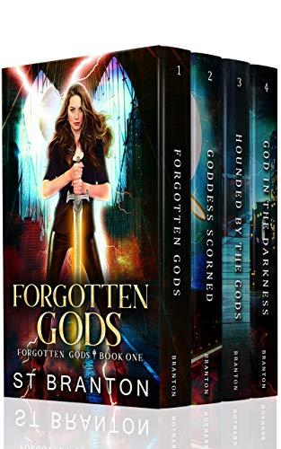Forgotten Gods Boxed Set One: Forgotten Gods, Goddess Scorned, Hounded By The Gods, God In The Darkness (The Forgotten Gods Boxed Sets Book 1) by [Branton, ST, Raymond, CM, Barbant, LE]