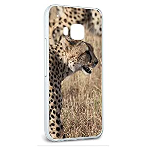 Snap On Protective Slim Hard Case for HTC One M9 Animal Designs A-K - Cheetahs on African Plain