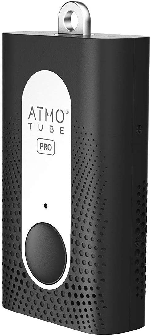 Atmotube Pro Portable Outdoor and Indoor Professional Air Quality Monitor [PM, VOCs, Formaldehyde, Temperature, Humidity and Barometric Pressure Gauge]